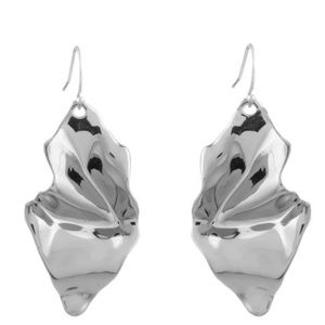 New! ALEXIS BITTAR Crumpled Wire Earrings
